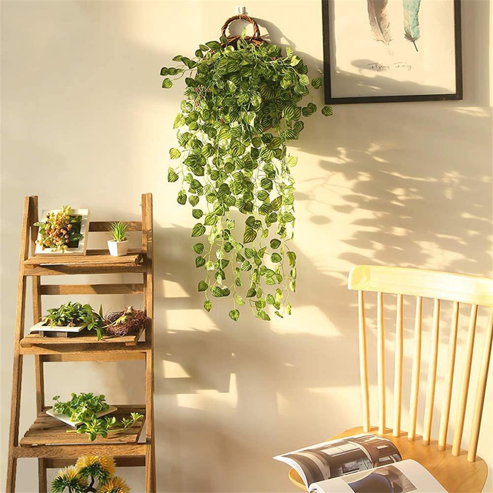 magnetic-toys Artificial Leaf Ivy Vine Plant Foliage Green Leaves Home Garden Decor HOB1695181 1