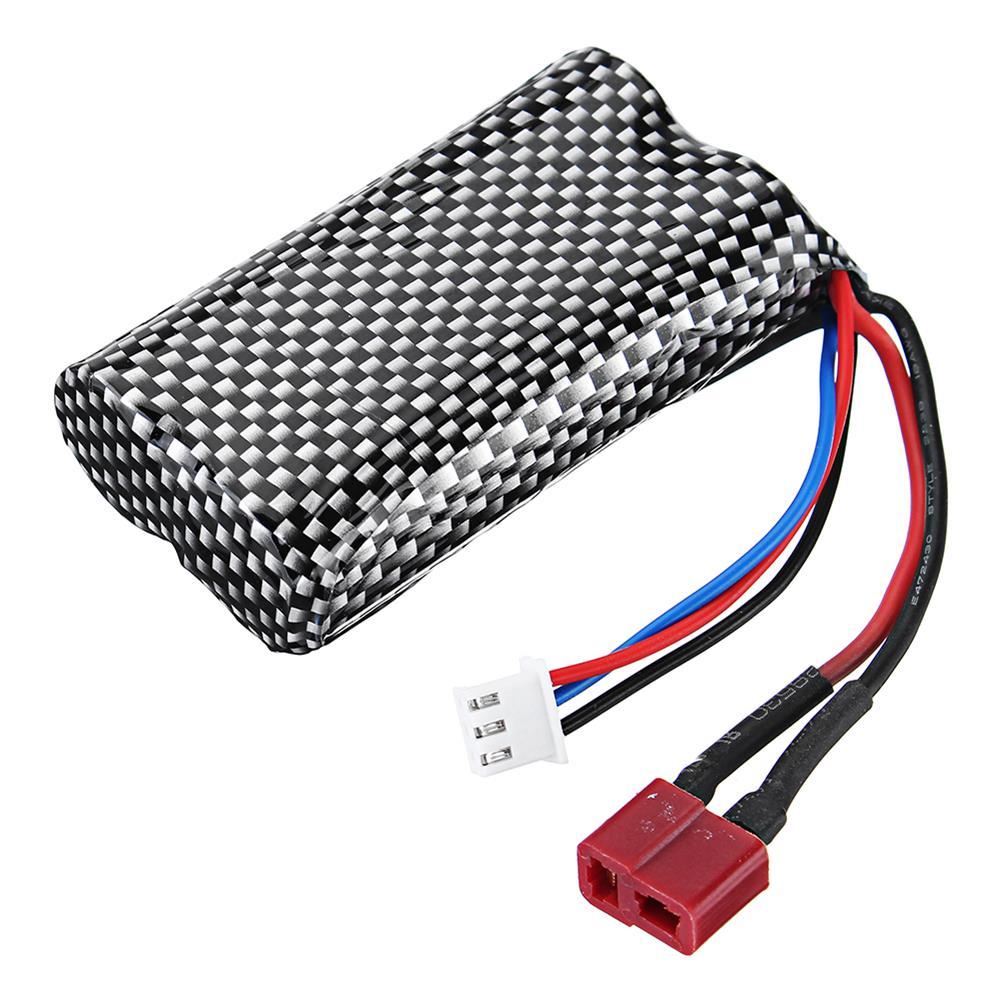 battery-charger-HT 7.4V 1300mAh 2S 15C Li-ion Battery T Plug for C602 C604 C605 1/16 RC Car Vehicles Model-HOB1695855 1