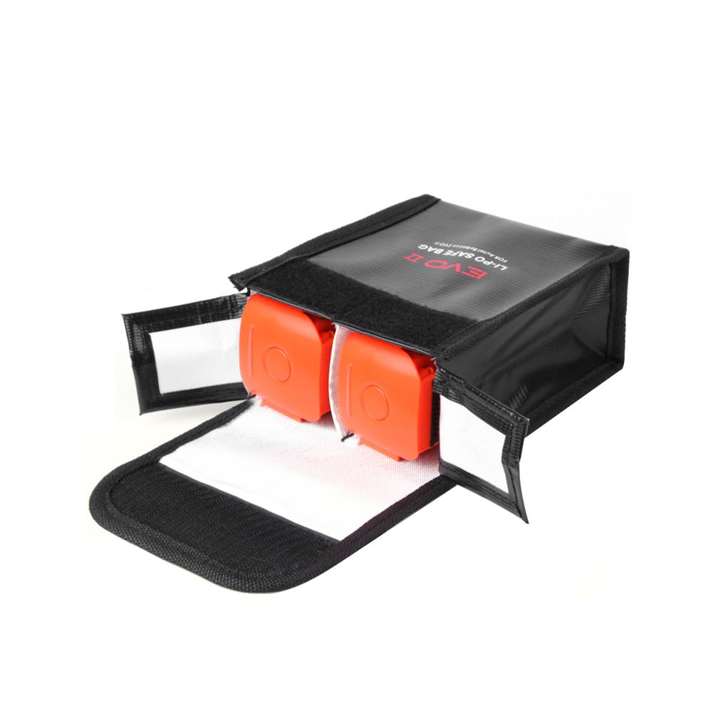rc-quadcopter-parts Sunnylife LiPo Battery Explosion-proof Storage Safe Bag for Autel EVO II Series RC Drone HOB1697109 2