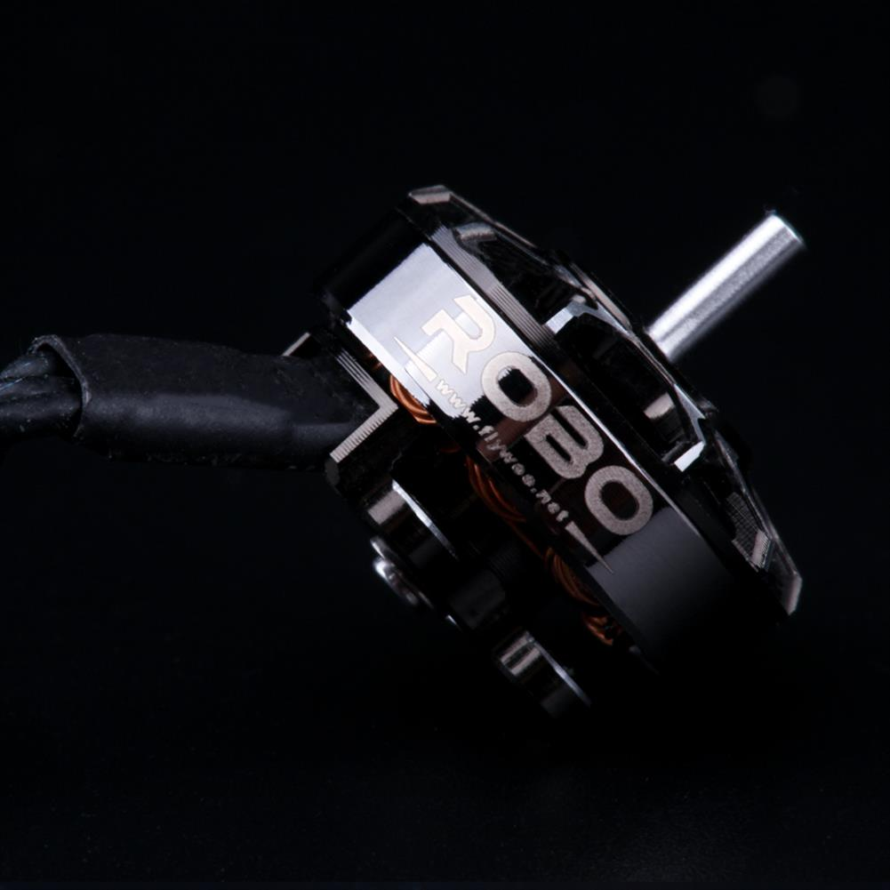 multi-rotor-parts Flywoo ROBO RB 1202.5 5500KV 2-4S / 11500KV 1-3S Brushless Motor 1.5mm Shaft for 2-3 inch RC Drone FPV Racing HOB1697243 3