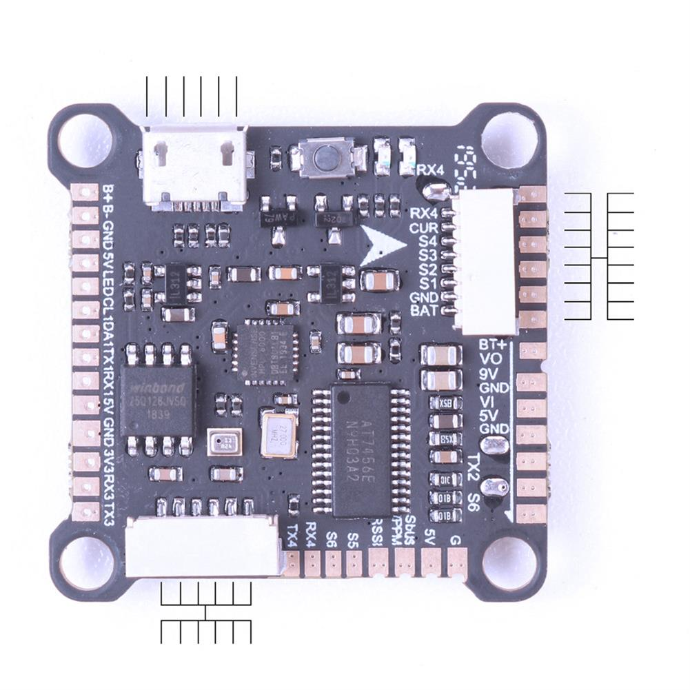 multi-rotor-parts 30.5x30.5mm V-Good HD F4 OSD 3-6S Flight Controller with 5V 9V BEC Black Box Support DJI Air Unit for RC Drone FPV Racing HOB1697801