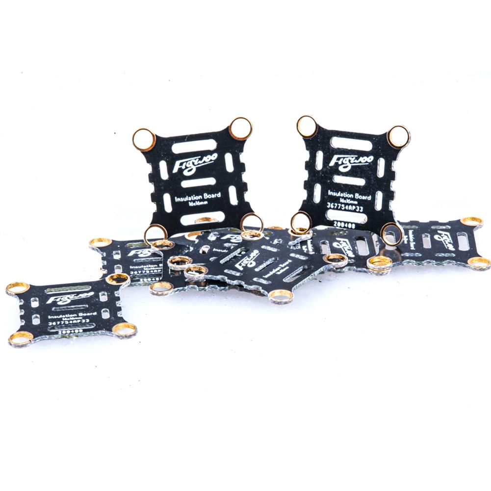 multi-rotor-parts 10 PCS Flywoo 16x16mm insulation Board Short Circuit Protection for F3 F4 F7 Flight Controller 4in1 Brushless ESC RC Drone FPV Racing HOB1698066