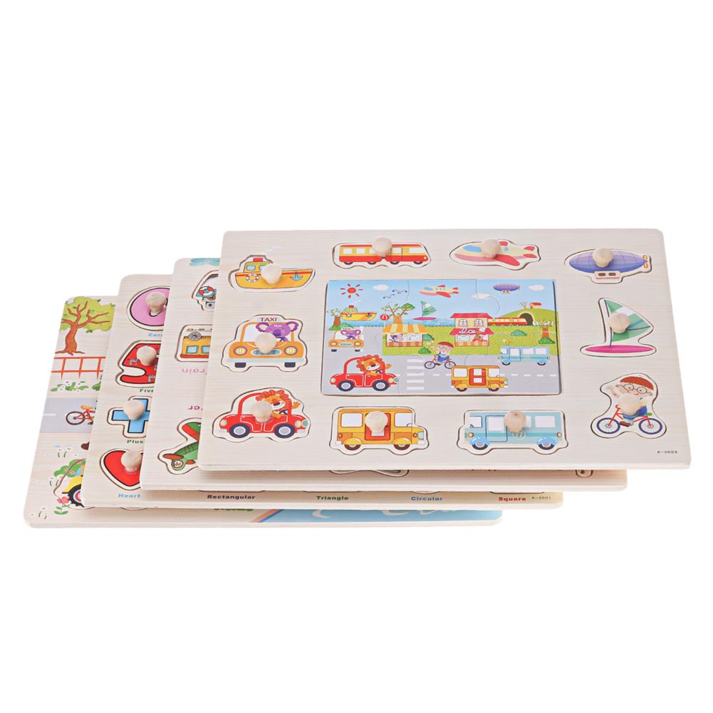puzzle-game-toys Wooden Multi-style Math Jigsaw Puzzle Blocks Board intelligence Developing Early Education Toy for Kids Gift HOB1698283 1