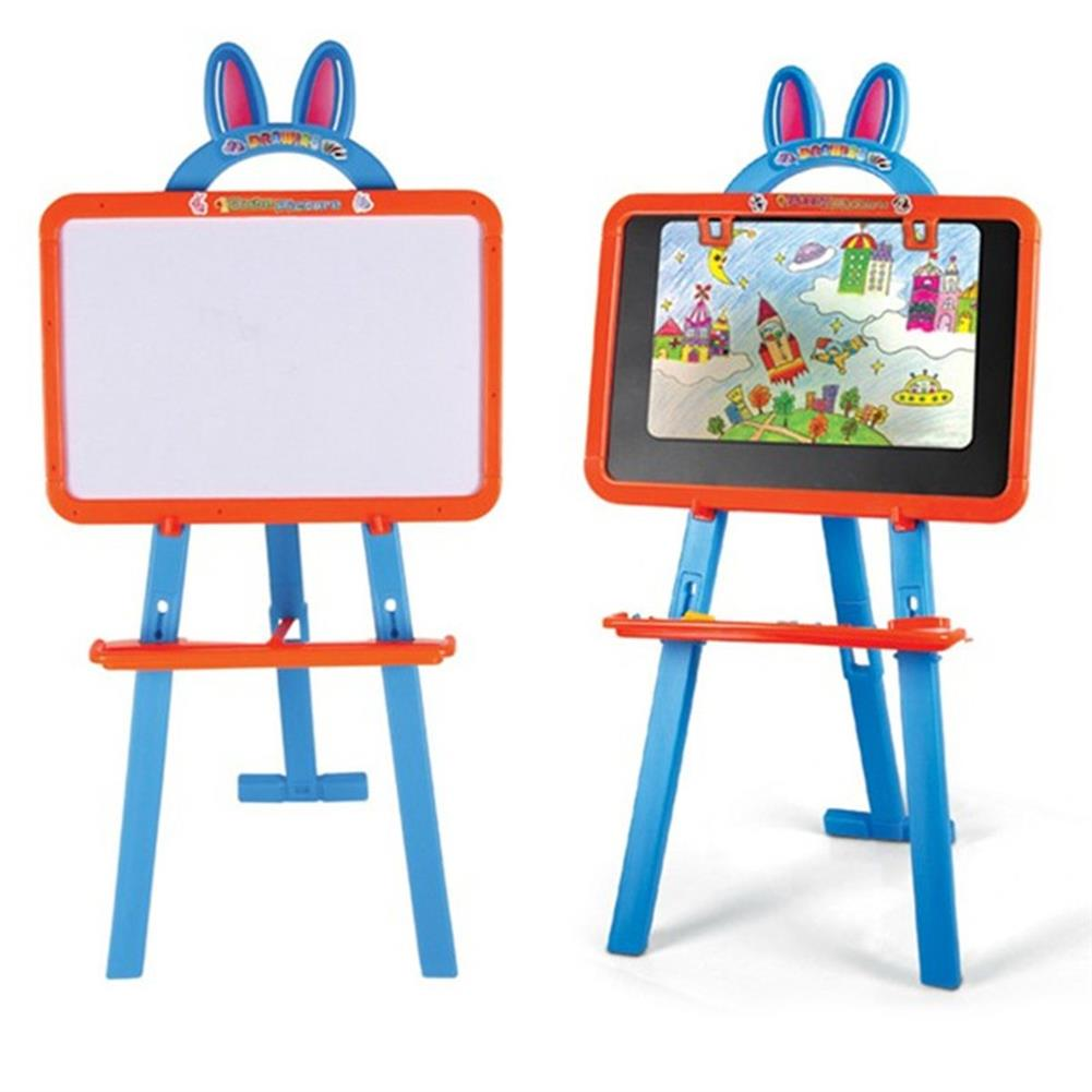 paper-art-drawing 3 IN 1 Magnetic Writing Drawing Board Double Side Learning Easel Educational Toys for Kids HOB1698285