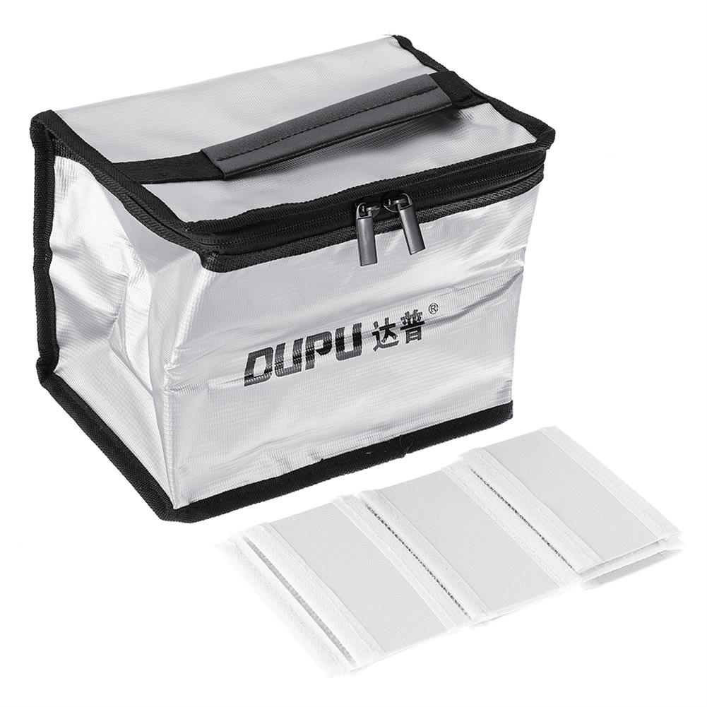 battery-charger DUPU Explosion-proof Fireproof Safe Storage Bag 210X160X140mm for RC LiPo Battery HOB1698502