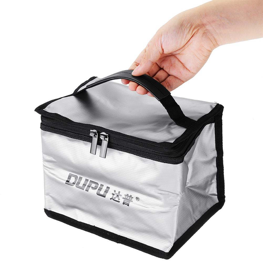 battery-charger DUPU Explosion-proof Fireproof Safe Storage Bag 210X160X140mm for RC LiPo Battery HOB1698502 3