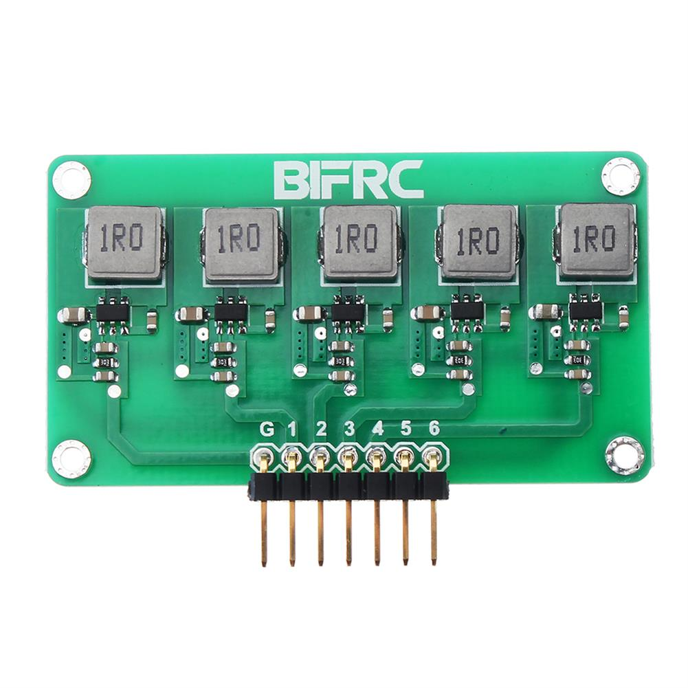 battery-charger BIFRC 1.5A High Current Balance Module Lipo Battery Active Equalizer Board 2-6S Energy Transfer Equalization PCB Circuit Board HOB1698690