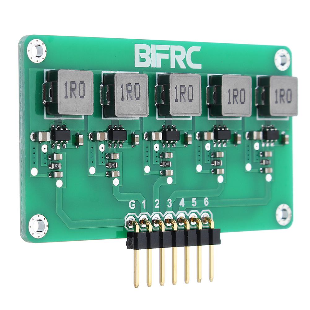 battery-charger BIFRC 1.5A High Current Balance Module Lipo Battery Active Equalizer Board 2-6S Energy Transfer Equalization PCB Circuit Board HOB1698690 1