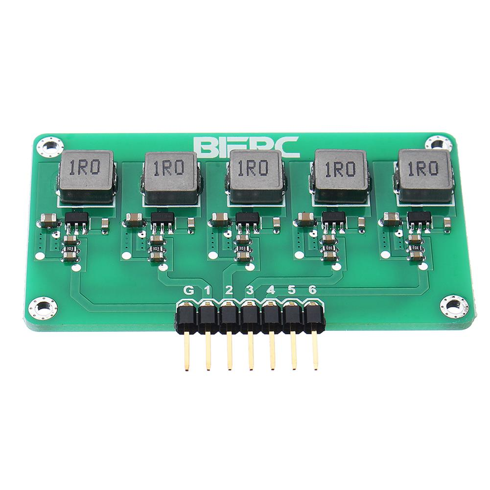 battery-charger BIFRC 1.5A High Current Balance Module Lipo Battery Active Equalizer Board 2-6S Energy Transfer Equalization PCB Circuit Board HOB1698690 3
