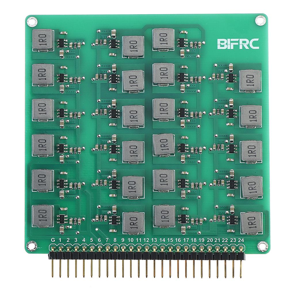 battery-charger BIFRC 2-24S Lipo Battery Active Equalizer Protection Board Balance Current 2A Energy Transfer PCB Circuit Module HOB1698708