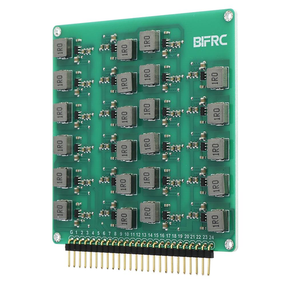 battery-charger BIFRC 2-24S Lipo Battery Active Equalizer Protection Board Balance Current 2A Energy Transfer PCB Circuit Module HOB1698708 1
