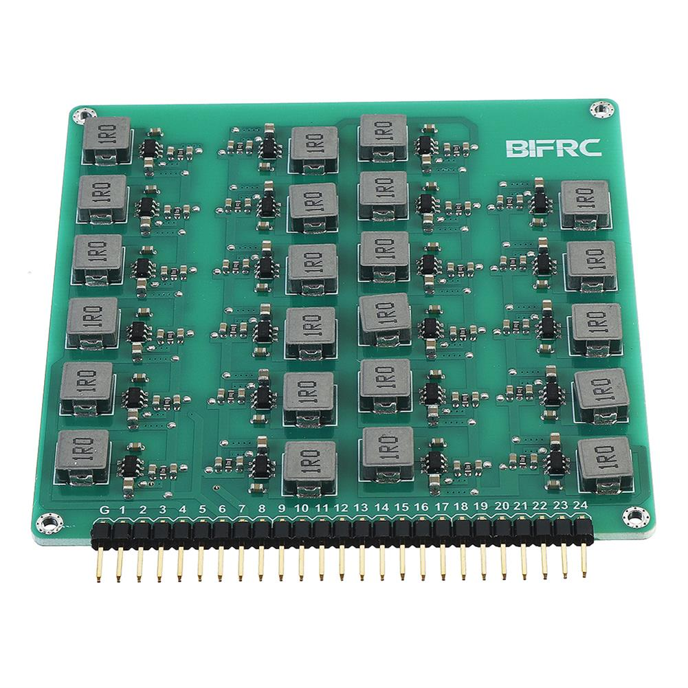 battery-charger BIFRC 2-24S Lipo Battery Active Equalizer Protection Board Balance Current 2A Energy Transfer PCB Circuit Module HOB1698708 2