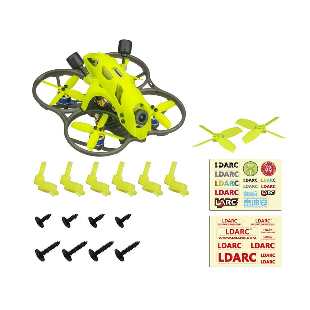 fpv-racing-drone LDARC ET85D 87.6mm Wheelbase F4 AIO 12A BLheli_S ESC 2 inch 4S CineWhoop FPV Racing Drone BNF with DJI Air Unit HOB1698709 2