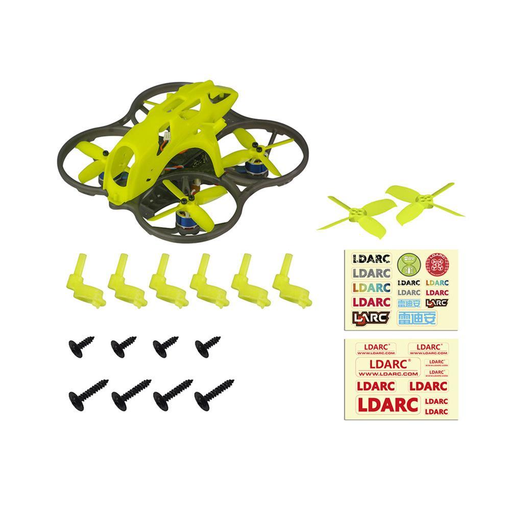 fpv-racing-drone LDARC ET85D 87.6mm Wheelbase F4 AIO 12A BL_S ESC 4S Whoop FPV Racing Drone PNP w/ 48CH 25-200mW VTX NO DJI Air Unit Version HOB1698785 1