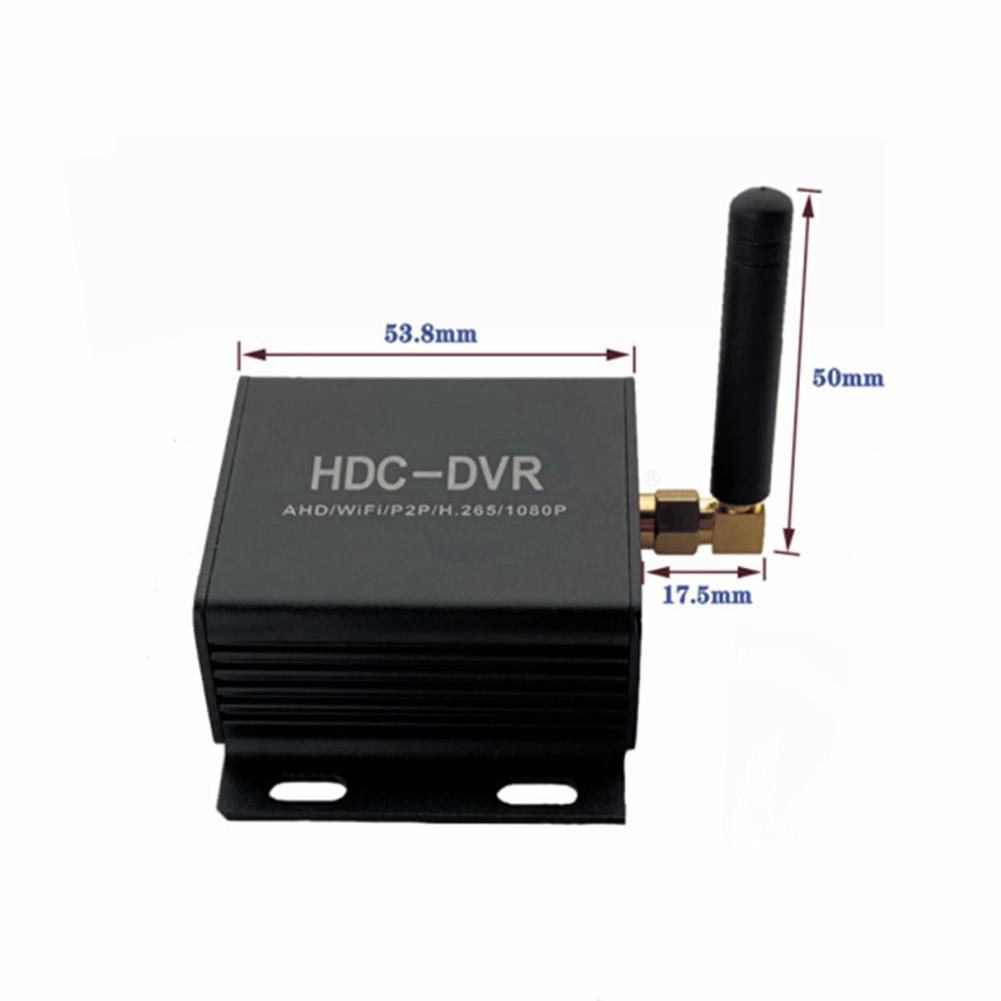 fpv-system Mini AHD/TVI/CVI HDC DVR Wifi network Camera H.265 Recorder Support 720P/1080P Camera Max HOB1700622 2