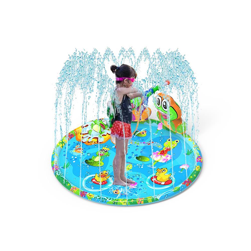 play-mats 59.06 Sprinkler Splash Play Mat Center Toddler Pool Large Cartoon Water Pad Toy HOB1700809 1