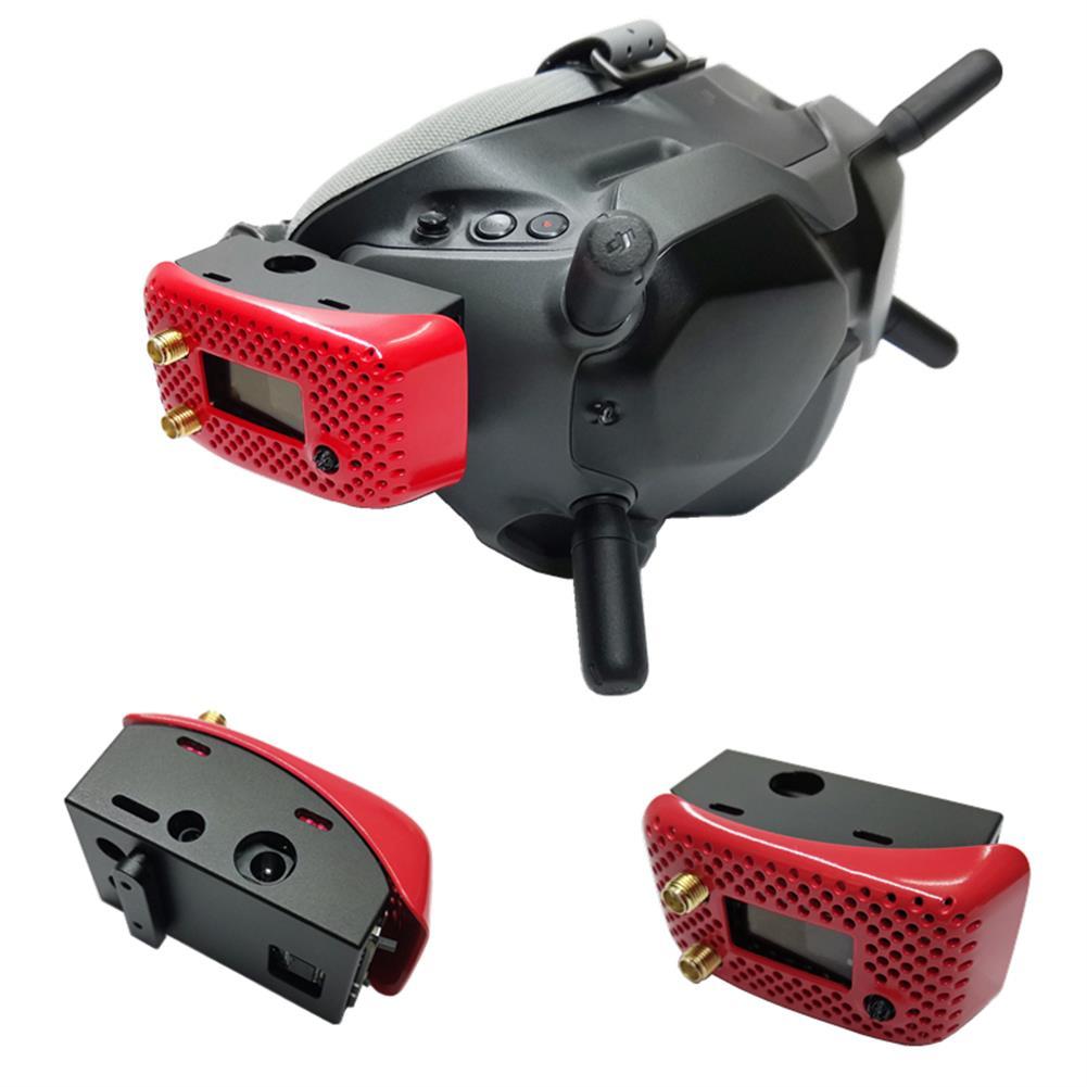 fpv-system URUAV V3.0 V3.0 PLUS Metal Adapter Mounting Case for DJI FPV Goggles HOB1700958