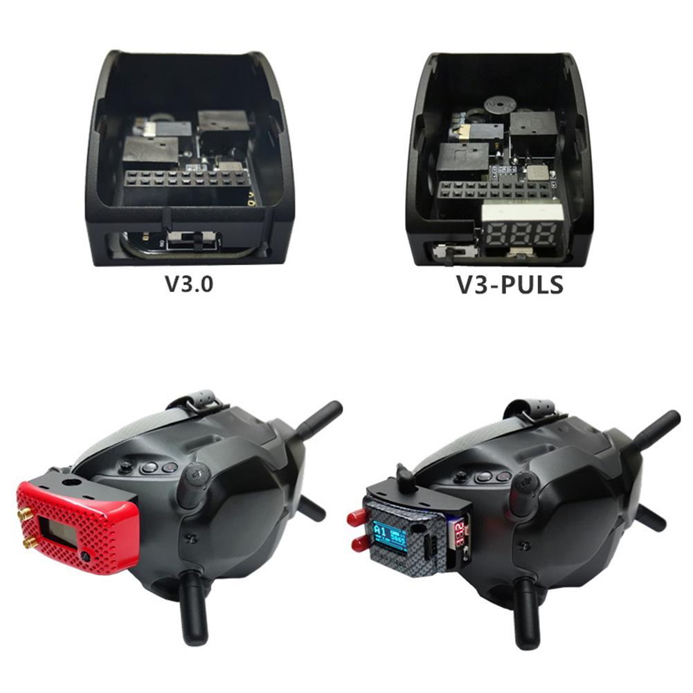 fpv-system URUAV V3.0 V3.0 PLUS Metal Adapter Mounting Case for DJI FPV Goggles HOB1700958 3