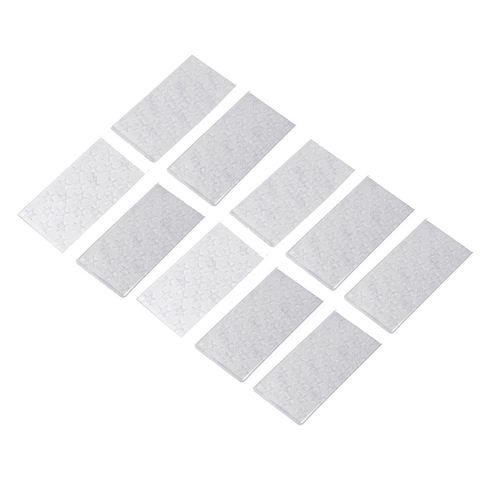 battery-charger 10Pcs URUAV PADSTAR 100x50mm Transparent Sticky Battery Mat Non-slip Pad Support Washing for Lipo Battery HOB1701063