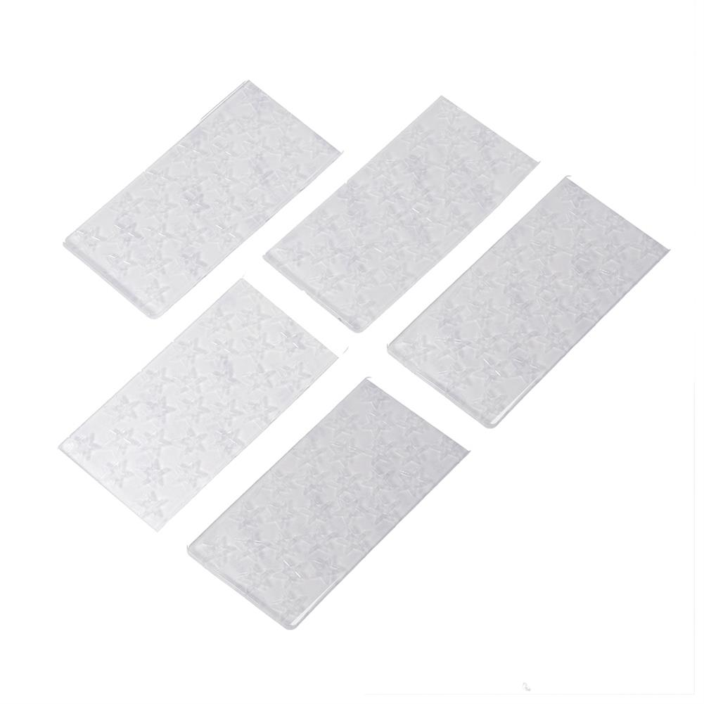 battery-charger 10Pcs URUAV PADSTAR 100x50mm Transparent Sticky Battery Mat Non-slip Pad Support Washing for Lipo Battery HOB1701063 1