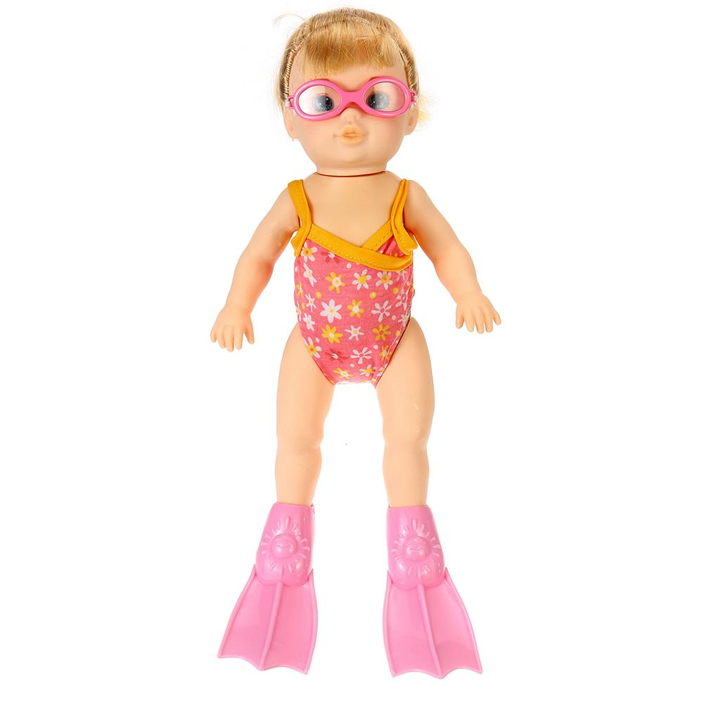 beach-play Children's Beach Swimming Pool Water Swimming Swimmer Summer Waterproof Electric Doll Water Toy HOB1702985 1