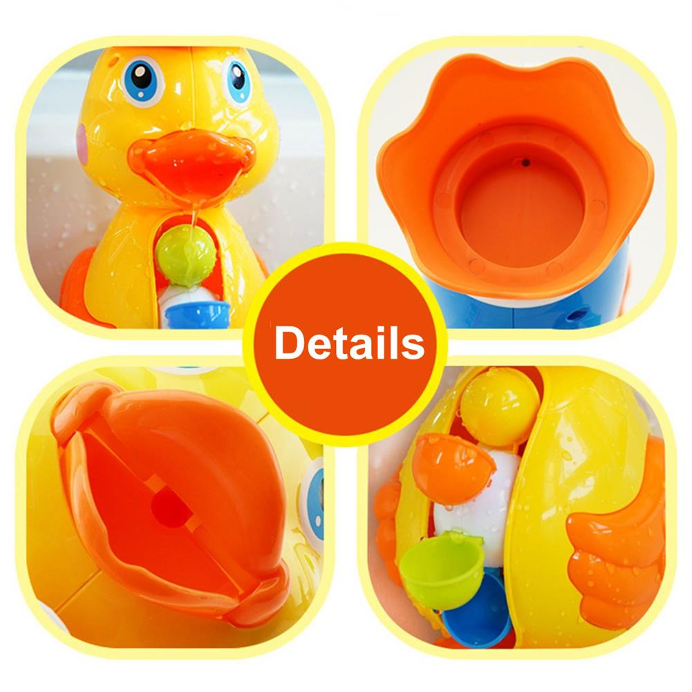 beach-play Children Bath Toys Bath Tub Beach Splashing Water Duck Dolphin Toys HOB1702997 1