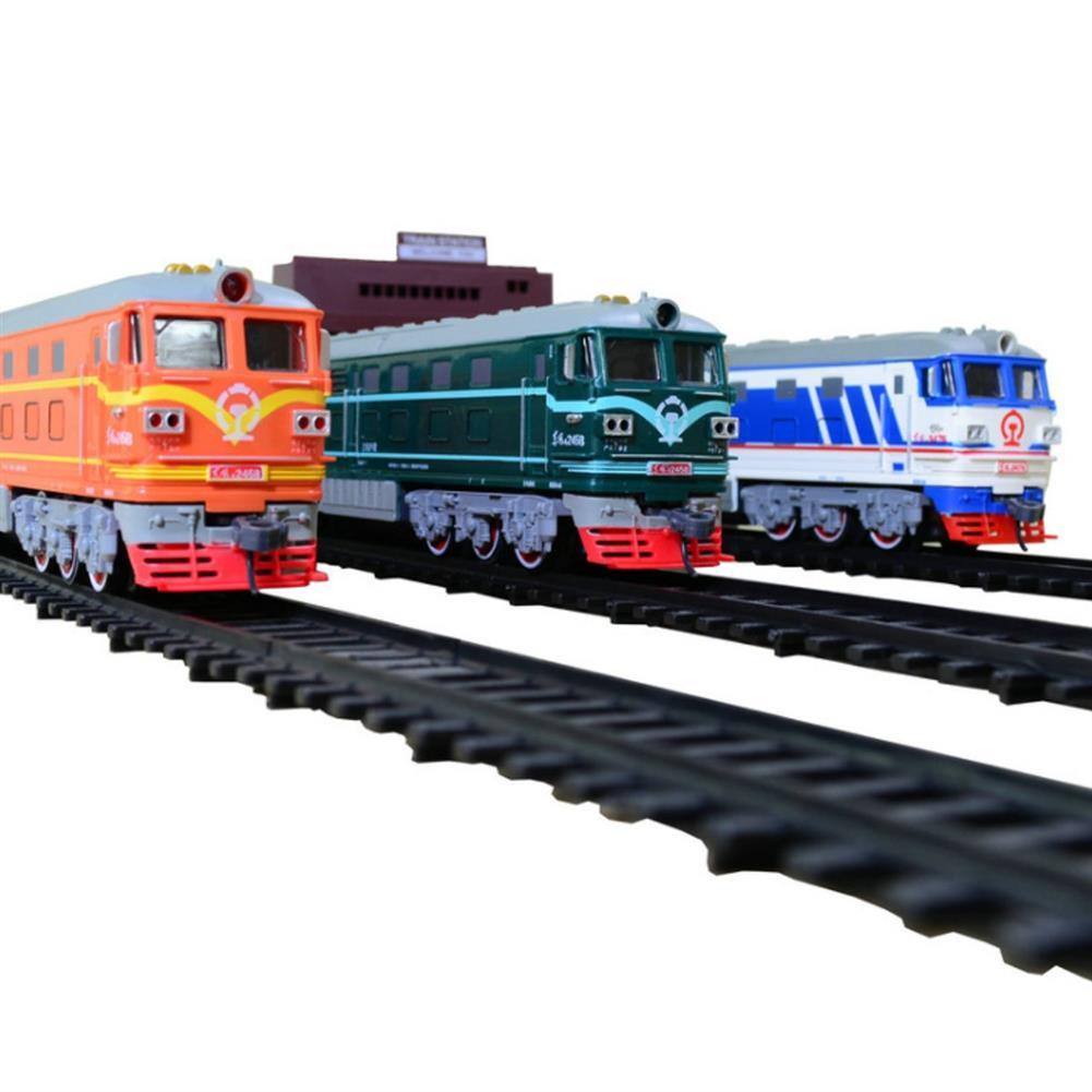 diecasts-model-toys Simulation Electric Rail Car Model Toy Track Accessories Sandbox General Scene Railroad Crossing Cave Iron Bridge indoor Toys HOB1703021