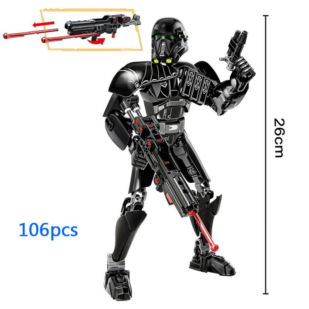 diecasts-model-toys 106PCS KSZ616 Building Block Toy Movie Doll Joints Hands-on Model Puzzle Assembly Building Block Toy HOB1703166 1