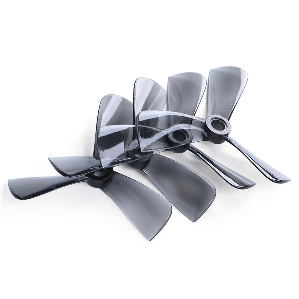 multi-rotor-parts 10 Pairs iFlight Nazgul Cine 3040 3x4 3 inch 3-Blade Propeller CW & CCW Transparent Gray for Banshee / Bumblebee RC Drone FPV Racing HOB1703314