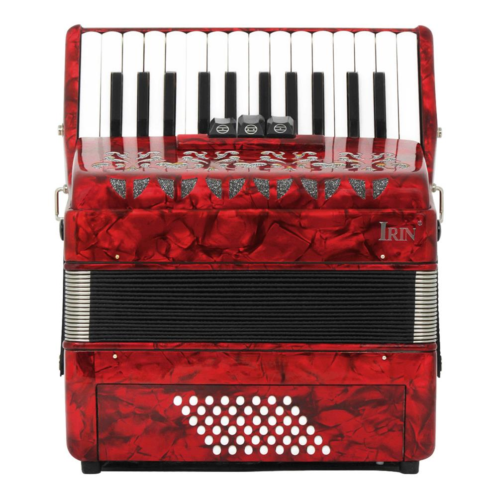accordion Irin 26 Key 48 Bass Accordion 3 Rows Spring Level Playing Accordion Keyboard instrument HOB1704174