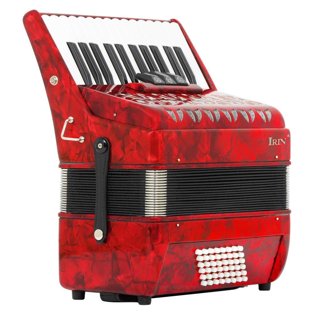 accordion Irin 26 Key 48 Bass Accordion 3 Rows Spring Level Playing Accordion Keyboard instrument HOB1704174 1