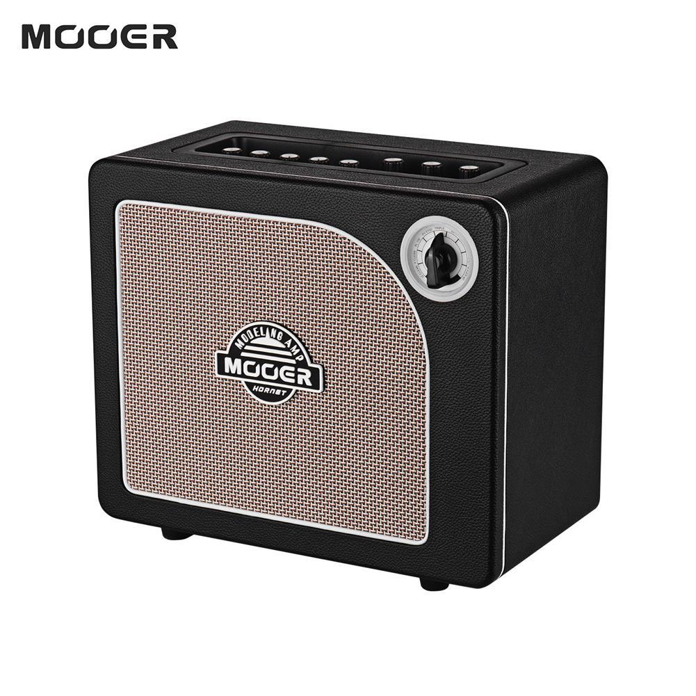 speakers-subwoofers MOOER BLACK 15 Watt Digital Modeling Combo Guitar Amplifier Speaker 9 Amp Models Built-in Modulation Delay Reverb Effects HOB1705489