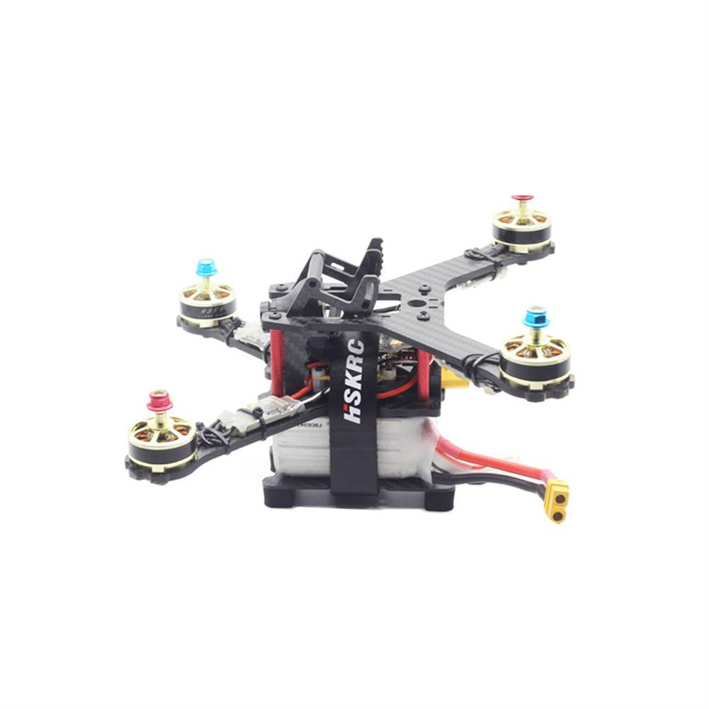 multi-rotor-parts HSKRC 75x45mm/ 85x45mm/ 95x45mm Lipo Battery Handing Protective Mount Plate w/ Battery Strap & M3 Sponge for 210mm RC Drone FPV Racing HOB1705941 1