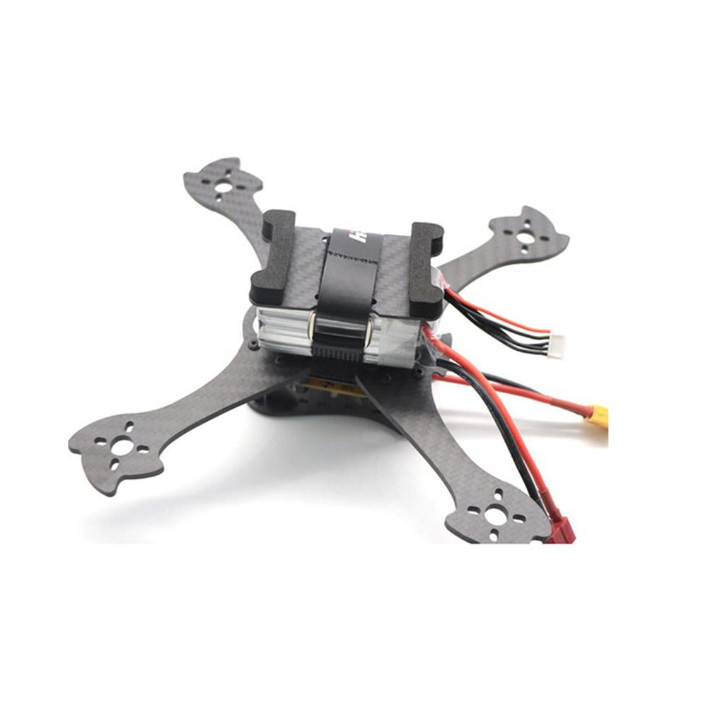 multi-rotor-parts HSKRC 75x45mm/ 85x45mm/ 95x45mm Lipo Battery Handing Protective Mount Plate w/ Battery Strap & M3 Sponge for 210mm RC Drone FPV Racing HOB1705941 2