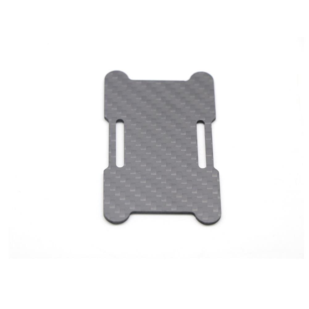 multi-rotor-parts HSKRC 75x45mm/ 85x45mm/ 95x45mm Lipo Battery Handing Protective Mount Plate w/ Battery Strap & M3 Sponge for 210mm RC Drone FPV Racing HOB1705941 3