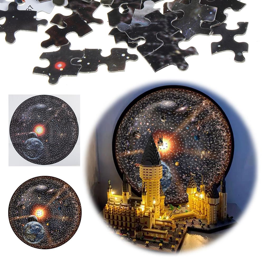 puzzle-game-toys Jigsaw Puzzle 1000 Pieces World Planets DIY Puzzle Kids Adult Toys Home Decor HOB1706865 1