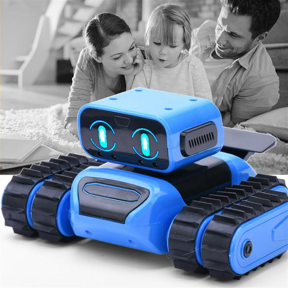 robot-toys intelligent RC Robot KIT Programming infrared Obstacle Avoidance Gesture Sensing Following Robot Toy HOB1707348