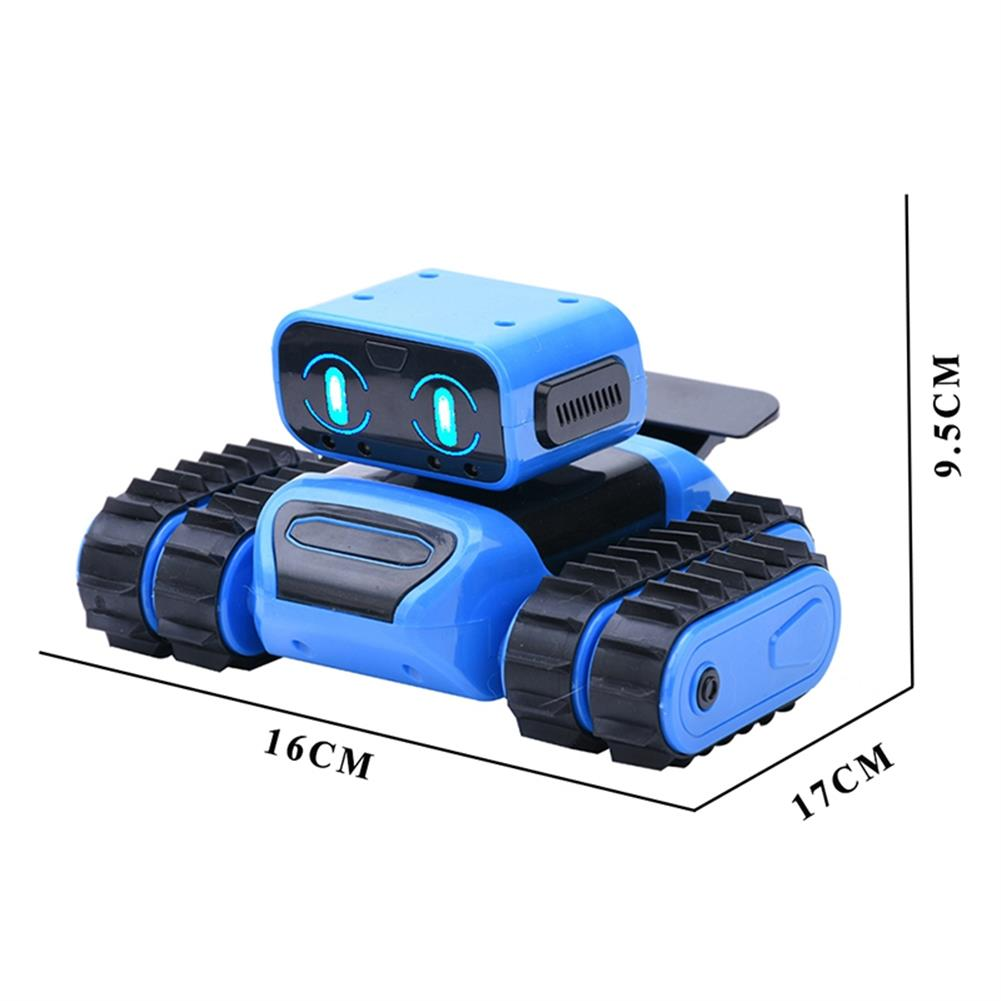 robot-toys intelligent RC Robot KIT Programming infrared Obstacle Avoidance Gesture Sensing Following Robot Toy HOB1707348 2