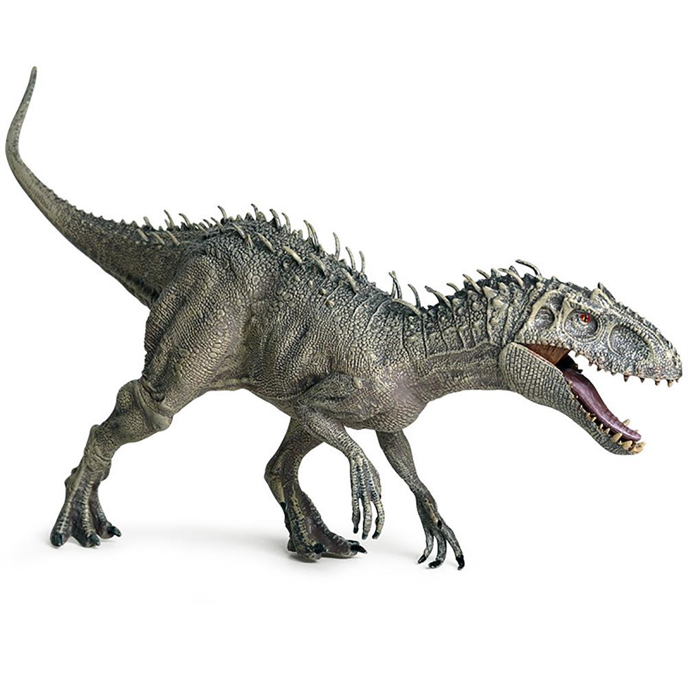 dolls-action-figure Jurassic Tyrannosaurus Rex Action Figures Mouth Opend Movable Static Dinosaur Animals Plastic Model Toy for Kids Gift HOB1707917