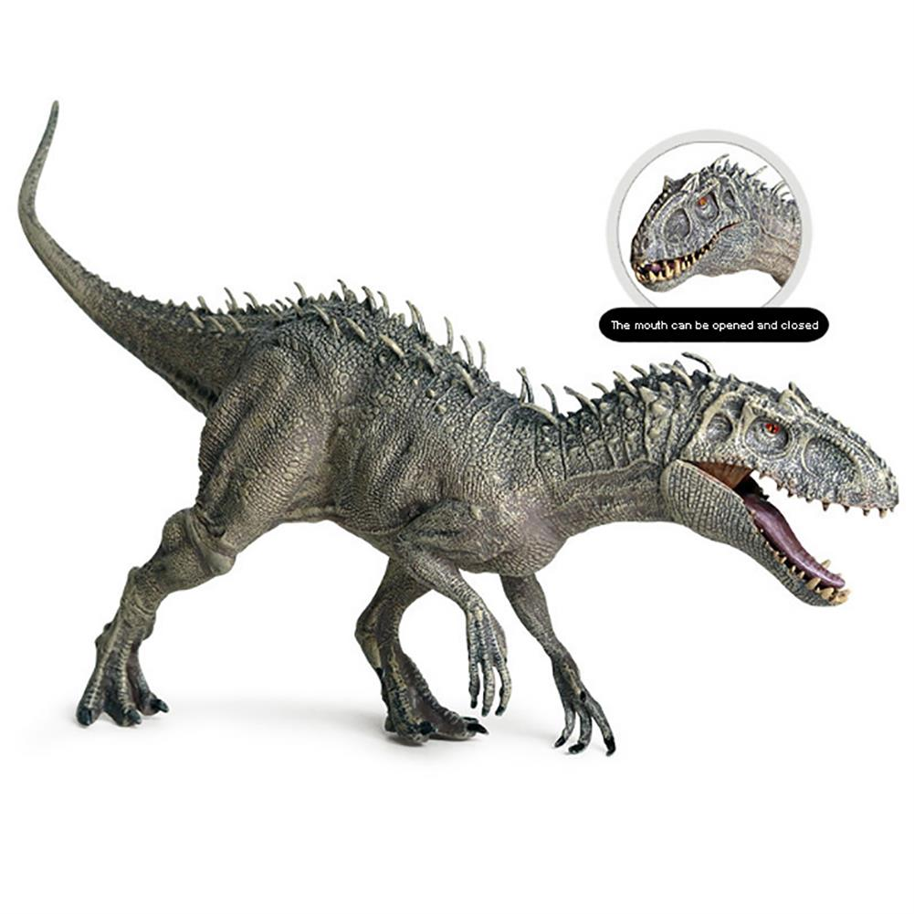 dolls-action-figure Jurassic Tyrannosaurus Rex Action Figures Mouth Opend Movable Static Dinosaur Animals Plastic Model Toy for Kids Gift HOB1707917 1
