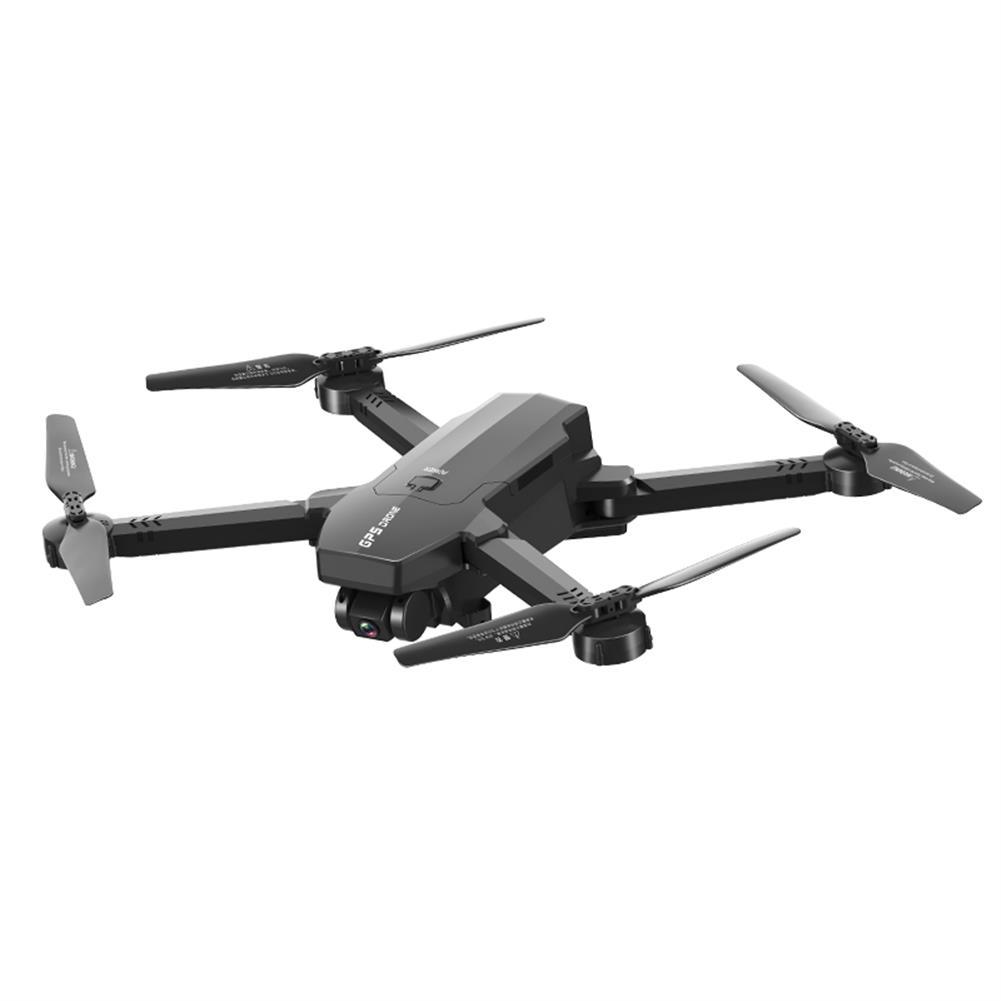 rc-quadcopters 1906 5G WIFI FPV GPS with 4K HD ESC Dual Camera Optical Flow Visual Positioning Foldable RC Drone Quadopter RTF HOB1708578 1