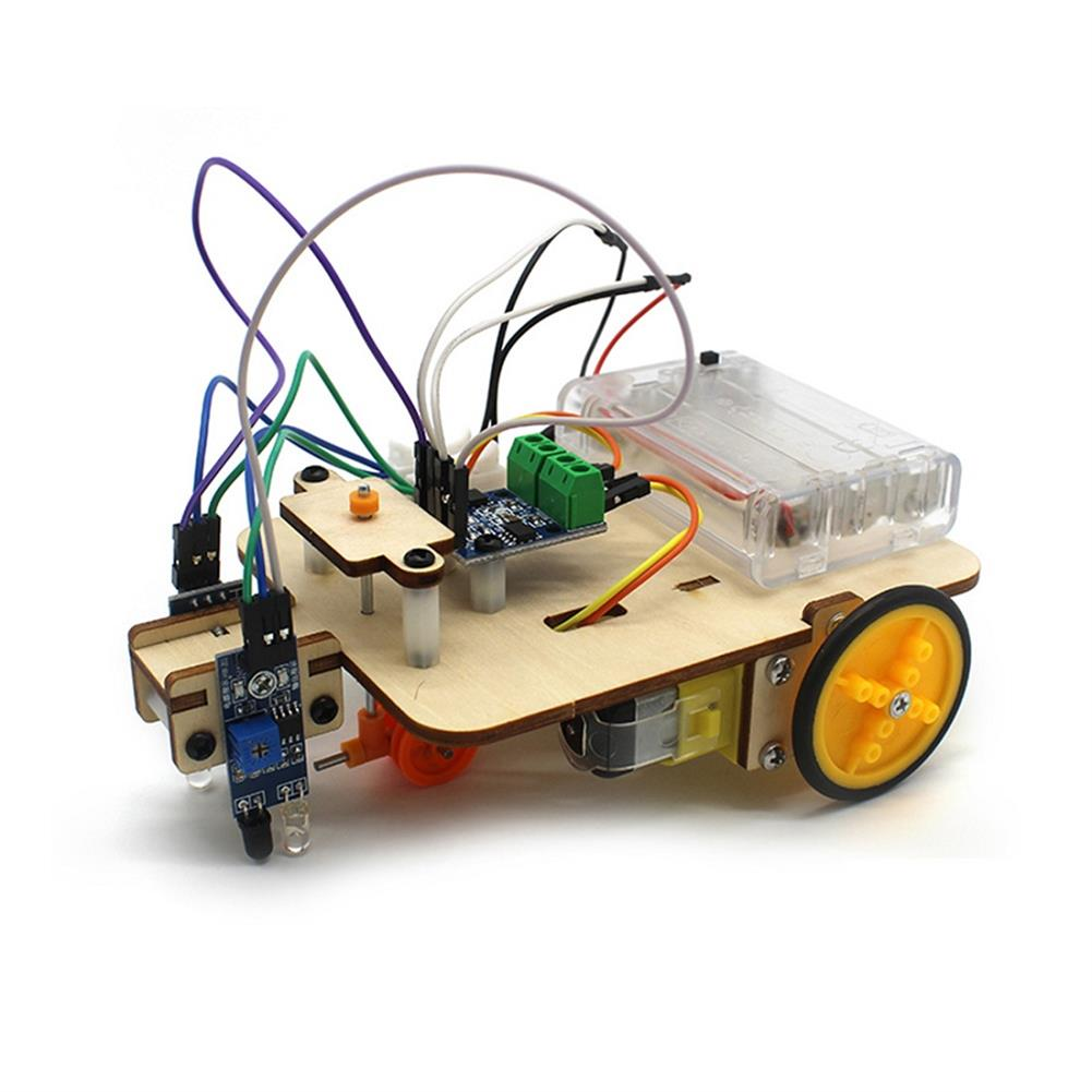 diy-education-robot Smart Robot Truck Chassis Kit Steam Education Learning Electronic Circuit for Arduino DIY Toy HOB1708690 2