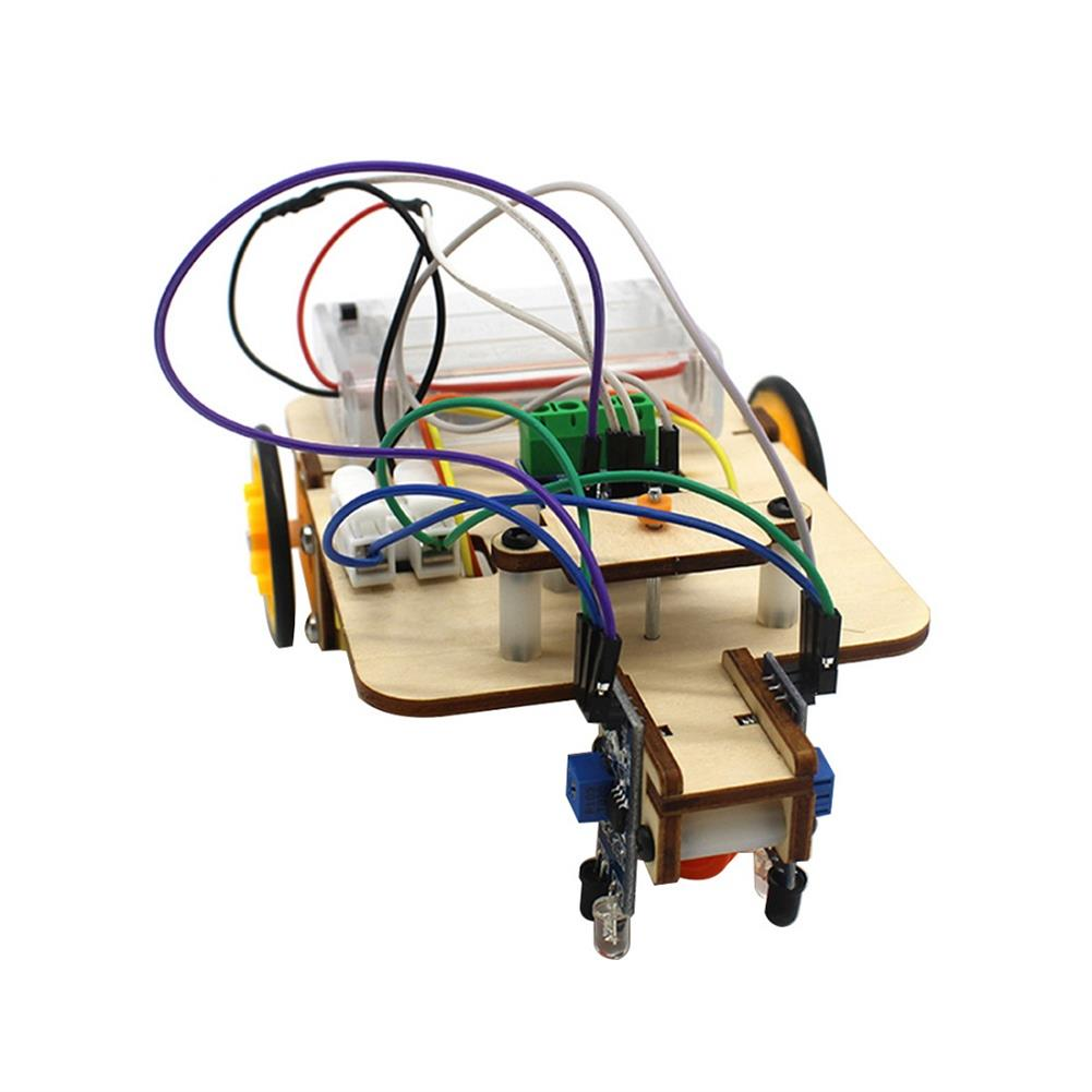 diy-education-robot Smart Robot Truck Chassis Kit Steam Education Learning Electronic Circuit for Arduino DIY Toy HOB1708690 3
