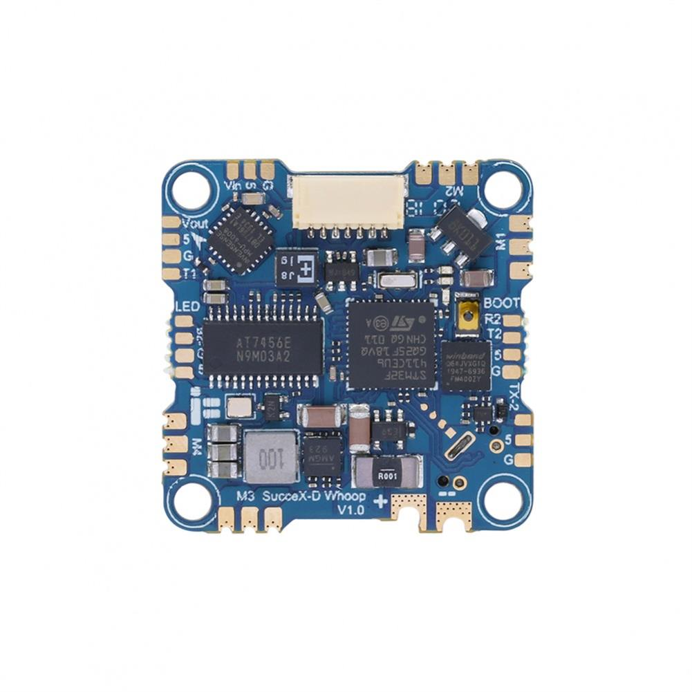 multi-rotor-parts 25.5x25.5mm iFlight SucceX-D Whoop F4 V2 Flight Controller w/ 5V 10V BEC Output AIO 20A BL_S 4in1 2-5S Brushless ESC Support DJI Air Unit Pulg and Play for Whoop Toothpick FPV Racing Drone HOB1709071