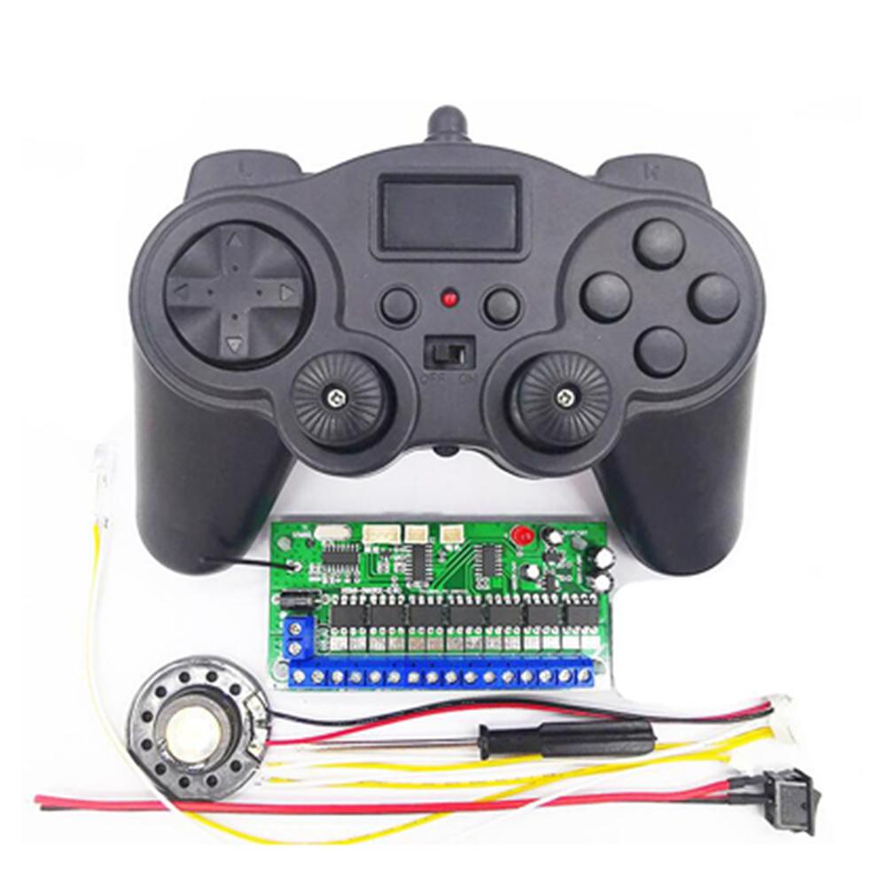 robot-parts-tools 16CH 2.4G 12V Remote Control Receiver Set for Model Excavator DIY Toy Car Robot HOB1709580