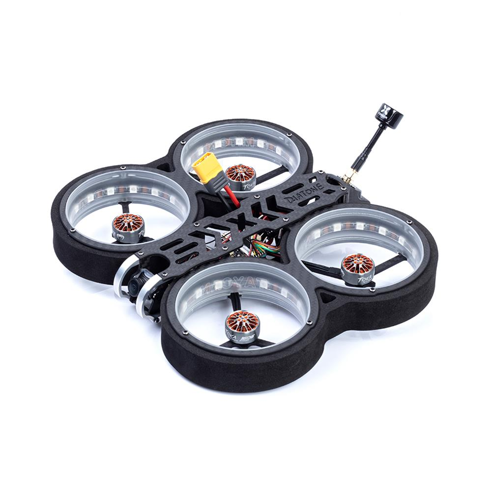 fpv-racing-drone Diatone MXC TAYCAN 369 SW2812 LED DUCT 3 inch 6S Freestyle CineWhoop FPV Racing Drone BNF w/ Runcam Nano 2 Camera HOB1711395