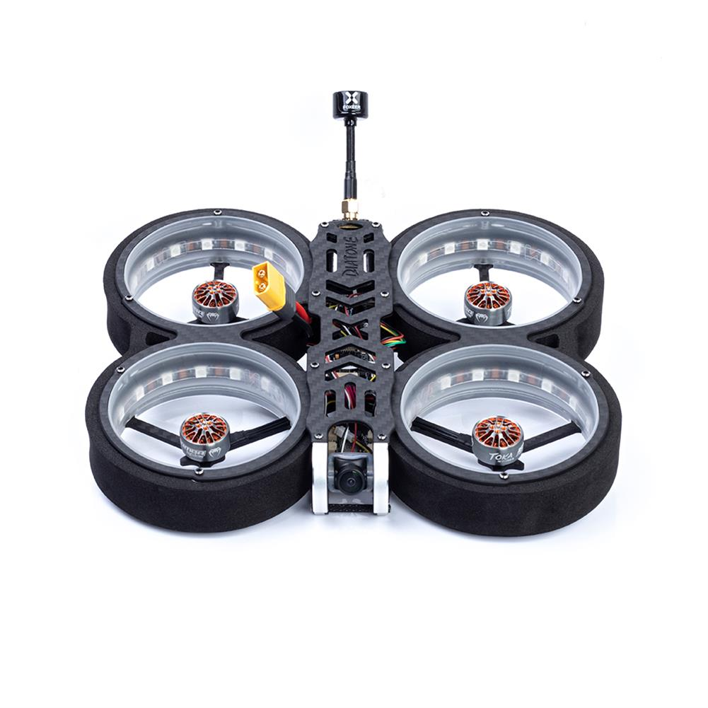 fpv-racing-drone Diatone MXC TAYCAN 369 SW2812 LED DUCT 3 inch 6S Freestyle CineWhoop FPV Racing Drone BNF w/ Runcam Nano 2 Camera HOB1711395 1
