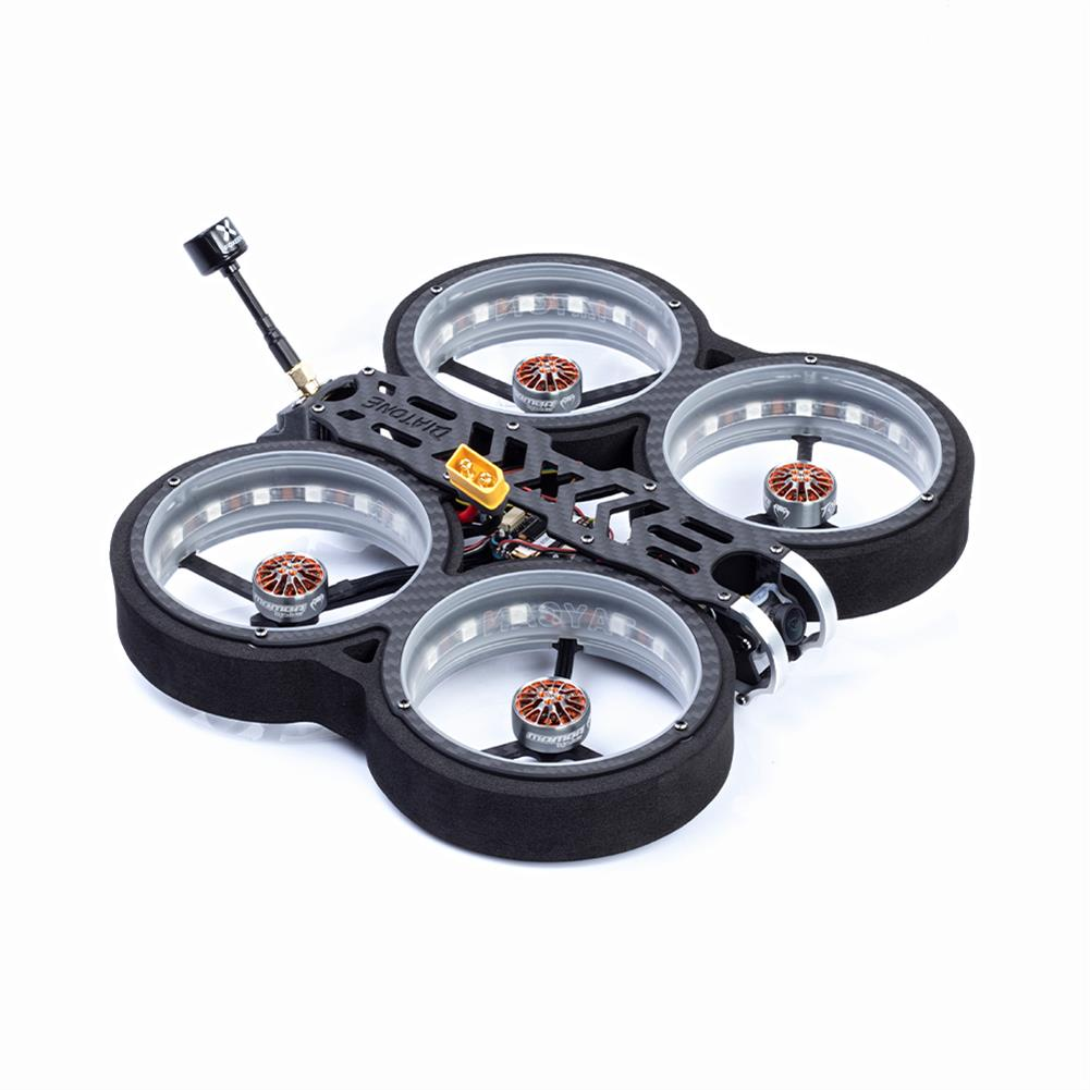 fpv-racing-drone Diatone MXC TAYCAN 369 SW2812 LED DUCT 3 inch 6S Freestyle CineWhoop FPV Racing Drone BNF w/ Runcam Nano 2 Camera HOB1711395 2