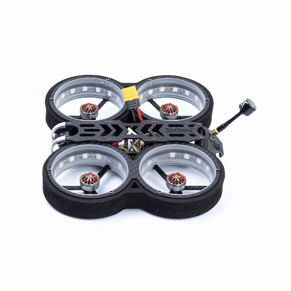 fpv-racing-drone Diatone MXC TAYCAN 369 SW2812 LED DUCT 3 inch 6S Freestyle CineWhoop FPV Racing Drone BNF w/ Runcam Nano 2 Camera HOB1711395 3