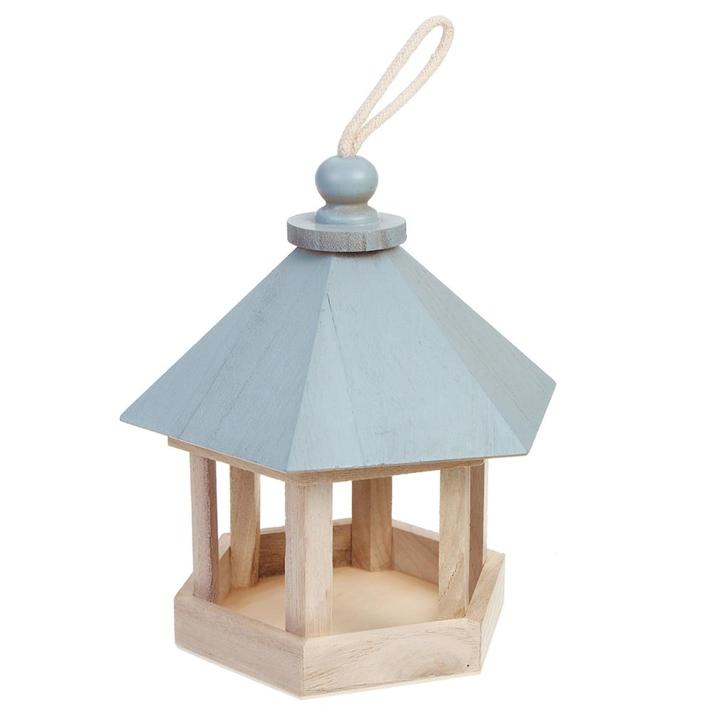 puzzle-game-toys Outdoor Wooden Hanging House Bird Feeder Bird House Bird Frame Rainproof Sturdy HOB1714782 2